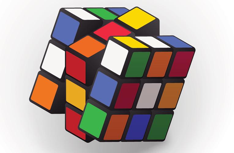 Složte si Rubikovu kostku