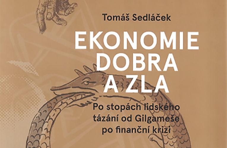 Kniha od Tomáše Sedláčka nyní zdarma